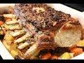 How to cook a pork rib roast easy recipe