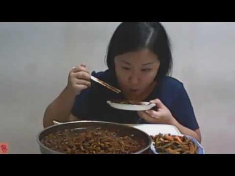 [jajangramen mukbang] 짜짜로니 5개 먹방 도전~