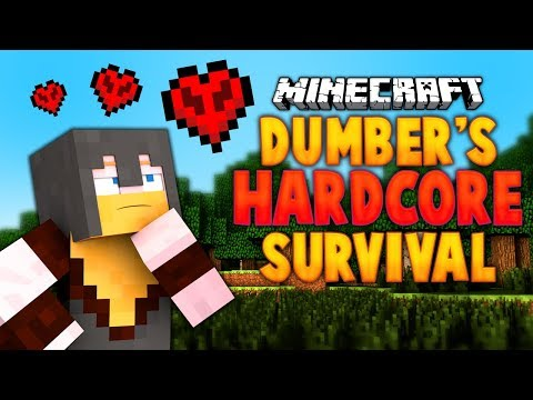 Dumber's Hardcore Survival Adventure (YAW Minecraft Live Stream)