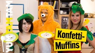 Konfetti-Törtchen // buntes Partyfood // #yumtamtam