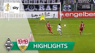 Borussia Mönchengladbach - VfB Stuttgart 2:0 | Highlights DFB-Pokal 2016/17 - 2. Runde