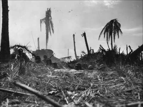 Rare  Recordings of Combat During the Battle of Kwajalein 1944