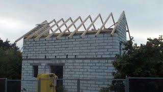 видео Будинок з піноблоків на 2 поверхи: фундамент, стіни, перекриття, дах