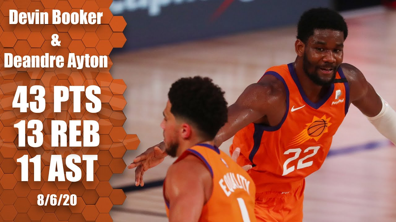 Devin Booker and Deandre Ayton's impressive highlights from Suns vs. Pacers | 2019-20 NBA Highlights