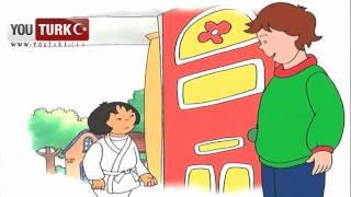 Caillou Türkce - Caillou Karate Yapmayi deniyor