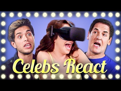 Thumbnail: CELEBS REACT TO VR | DON'T LET GO!!!