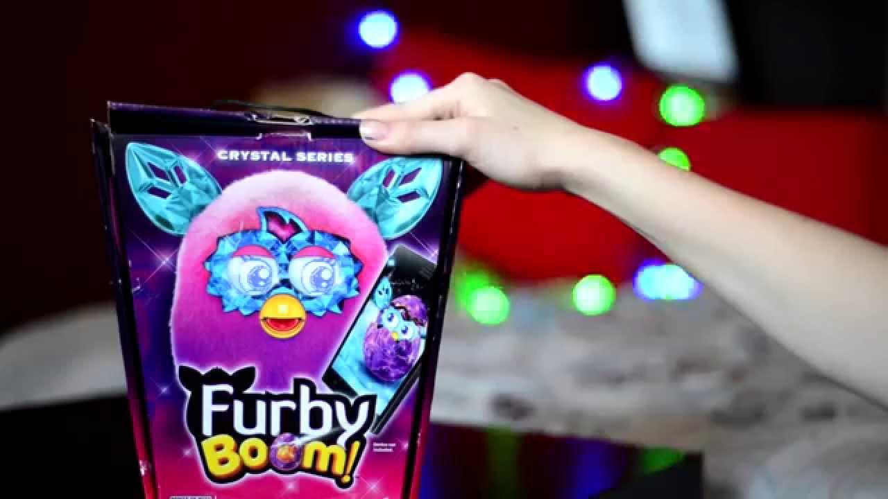Ферби Коннект фиолетовый цвет( Furby Connect purple color) - YouTube