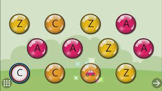 Learning Alphabets With Color Balls | Fun Games For Kids | Phonics | Play School Gamer