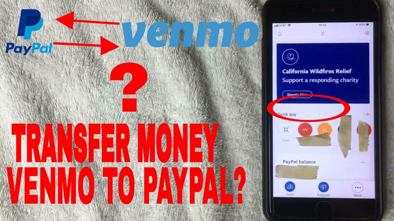 ✅ Transfer Money Venmo To Paypal? 🔴 - YouTube