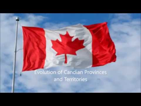 The Territorial Evolution of Candian Provinces and Territories
