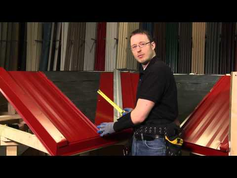 How to Install Valley Panel: ABC SL-16® Metal Roofing System