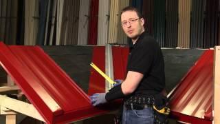 Vadi Panel: ABC SL-16® Metal Çatı Sistemi Kurmak için nasıl