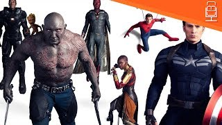 Avengers Infinity War 34 Characters Revealed & Some Shocking Ones As well