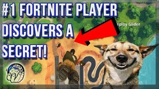 #1 Fortnite Player in the WORLD Discovers A Secret! Funny Fortnite Season 5 Gameplay