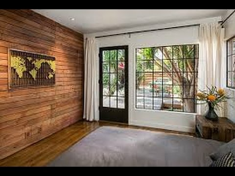 Madera decoraci n de la pared dise o de interiores youtube - Disenos de interiores ...