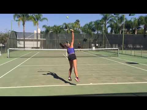 Raissa Wagner, Brasilia, Brazil - College Tennis Recruiting Video, fall 2018