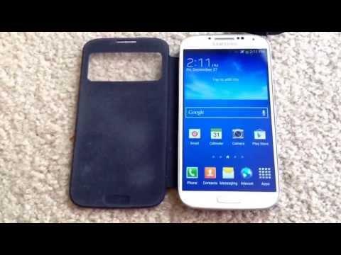 Samsung Galaxy S4 Quad-core Sprint 4G LTE Smartphone Unboxing 9-27-13