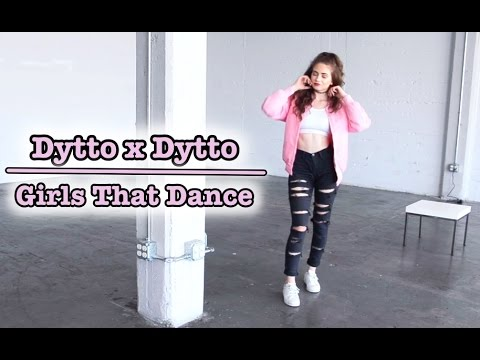 Dytto x Dytto  Girls That Dance  Popping Freestyle