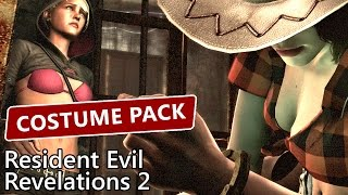 Resident Evil Revelations 2 Costume Pack Rodeo Ninja Commandant