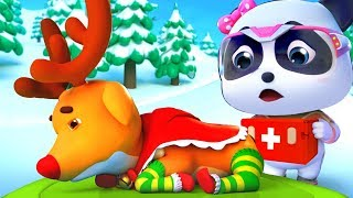 Reindeer Has a Stomachache | Sick Song | Doctor Cartoon | Kids Cartoon | Babies Videos | BabyBus
