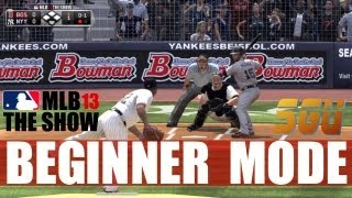 MLB 13 The Show - Beginner Mode