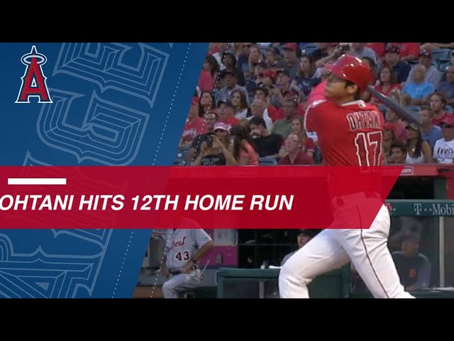 Ohtani hits 12th HR of the season