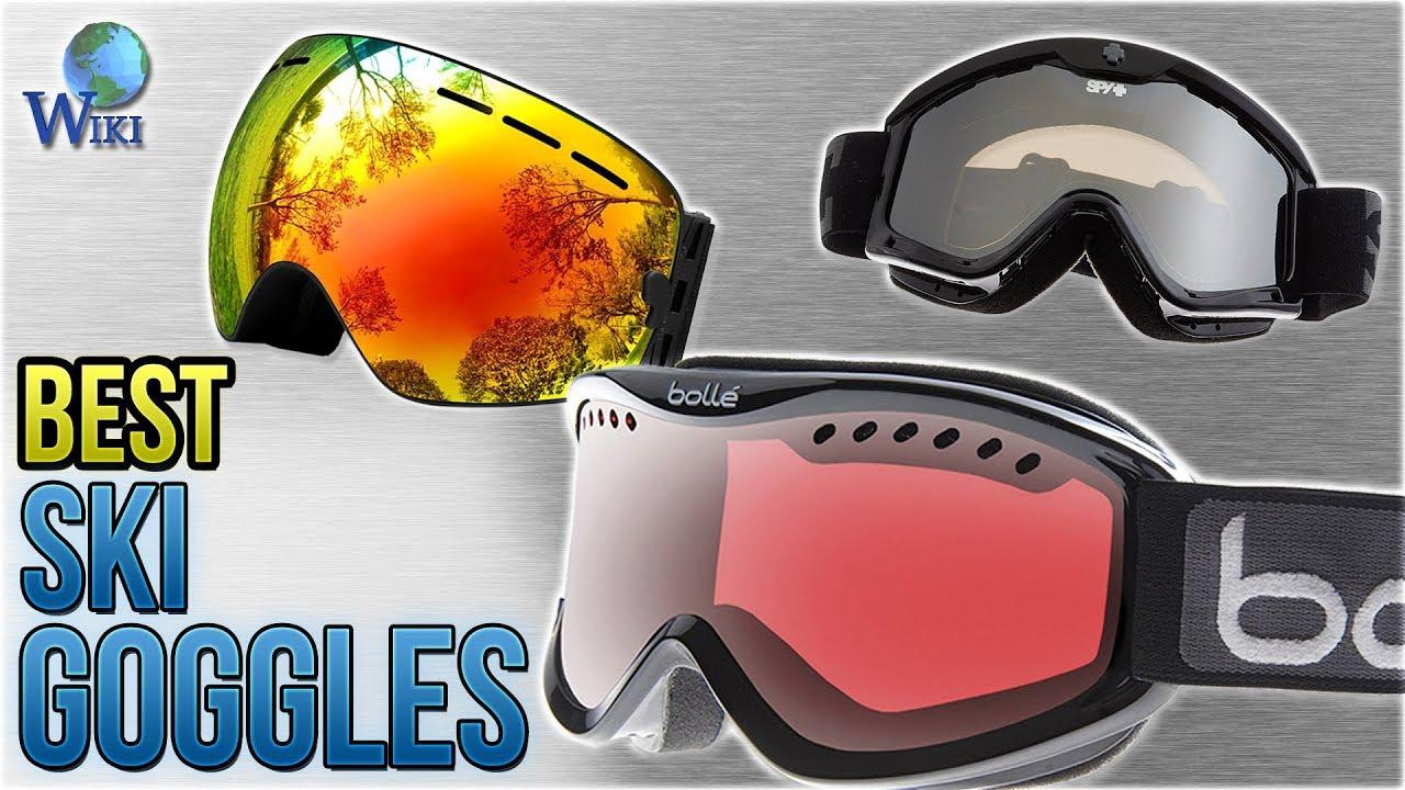 cfafb0655c10 10 Best Ski Goggles 2018 - YouTube