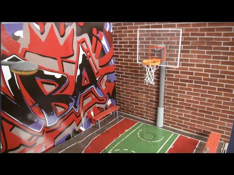 NBA Heroes Basketball Court from Jazwares