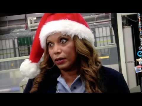 """We've Got Christmas Mail"" - ""Girl Talk"" -- starring Ashley Scott, A.J. Buckley, and Rolonda Watts"