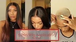 How I Really Wear My Wigs: 5 Min Application + Take Down