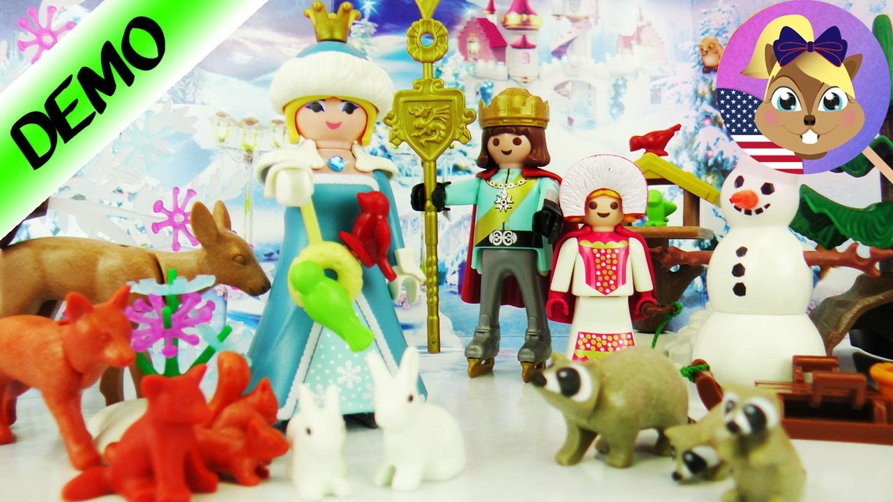 playmobil advent calender 2016 we open all 24 doors ice. Black Bedroom Furniture Sets. Home Design Ideas