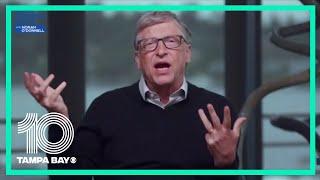 Bill Gates on eaŗly coronavirus vaccine trials.