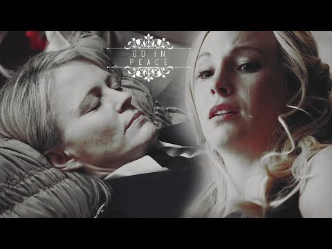 Caroline's mom funeral • Go on peace• (The Vampire Diaries)