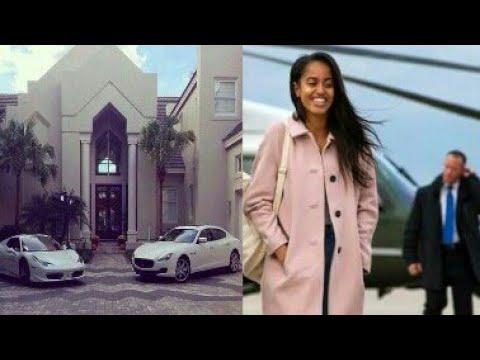 Barack Obama Daughter Sasha Obama House Car And Luxuriouslife Youtube