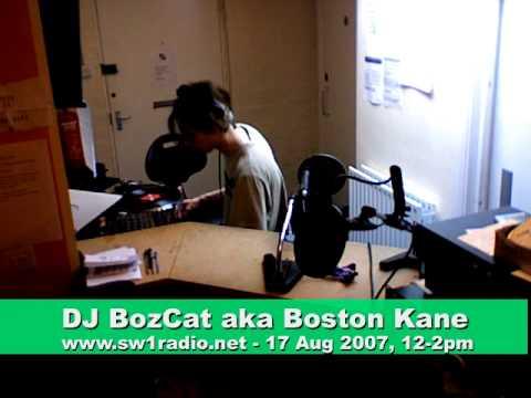 DJ Boston Kane ~ Aug 17, 2007 ~ SW1 Radio, Pimlico, London