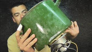 Двигатель от пылесоса.Полезная штуковина в хозяйстве!