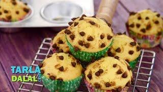 Chocolate Chip And Mango Muffin By Tarla Dalal