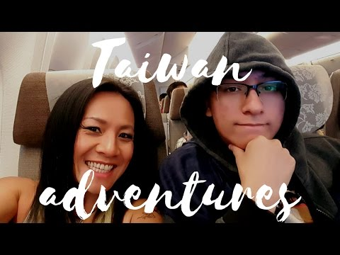 Taipei Taiwan Travel Vlog Part 1: His First Time!