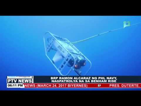 BRP Ramon Alcaraz ng PHL Navy, nagpatrolya na sa Benham Rise