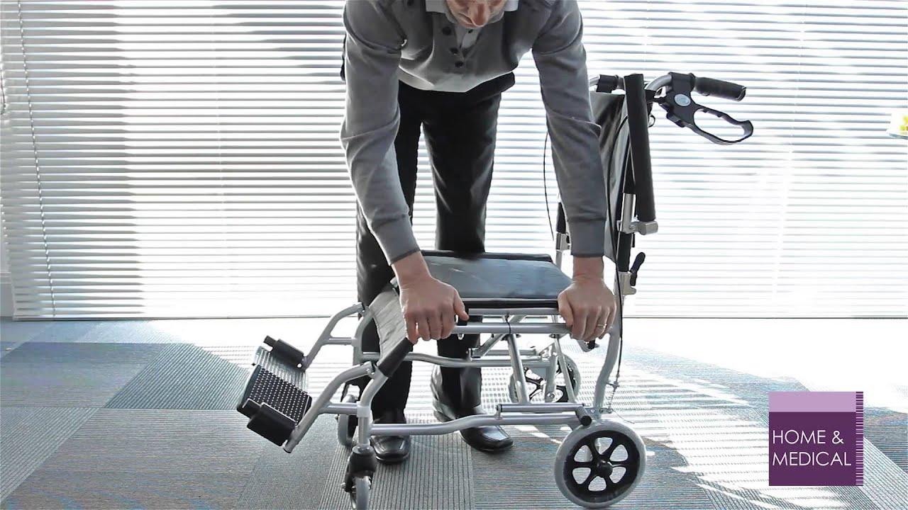 Z Tec Traveller Transfer Wheelchair ZT 600 652HB