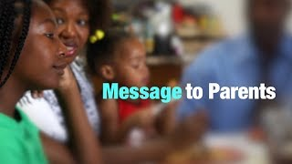 Dr. Nora Volkow | A Message to Parents