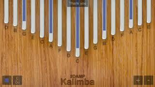 รีวิวแอป Kalimba by reviewtuapai