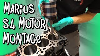 Marius S4 Motor - Die Montage bei BP Motorentechnik! | Philipp Kaess |