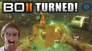 TURNED Zombies LIVE w Ali-A - Black Ops 2 Revolution Gameplay - NEW COD BO2 DLC