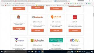 Freecharge latest coupons  FreeCharge Login Recharge Coupons