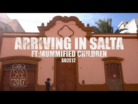 Salta, Argentina | Salta sights & wine from the carton! | South America Travel Vlog E12