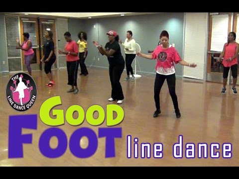 Good Foot (Pokey Bear) Line Dance-In Class