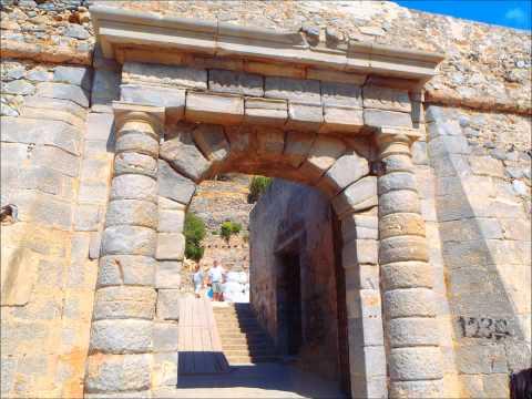 Spinalonga Crete Greece (TO NISI)