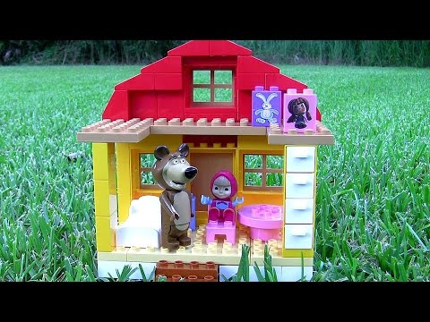 Thumbnail: House of Masha and the Bear Mega Blocks - Casa di Masha e Orso - Маша и Медведь - Masha i Medved