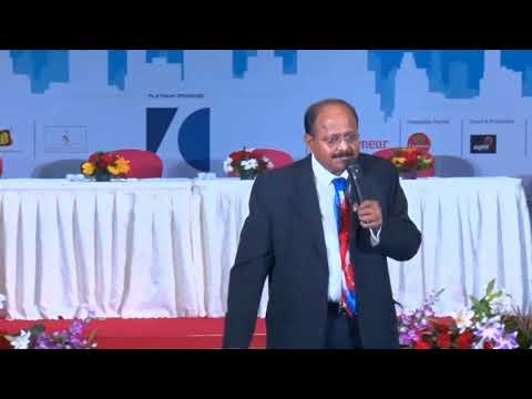 Mr. S Abhaya Kumar ( Entreprenuer who are business from zero to $700 Million) NEF 2018